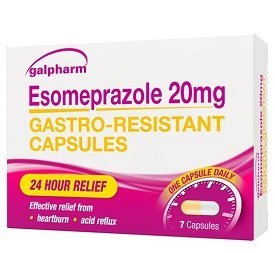 Over the counter esomeprazole (Galpharm) cheap alternative to ranitidine