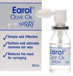 Earol - olive oil in convenient spray bottle for earwax removal