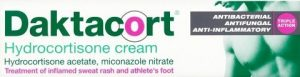 Over the counter antifungal creams: Daktacort hydrocortisone