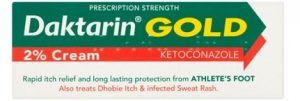 Daktarin Gold antifungal cream contains ketoconazole