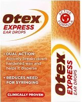 Otex Express - one of the most known brand of ear drops for wax removal