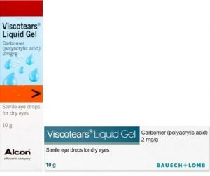 Viscotears Liquid Eye Gel are one of the most popular drops for dry eye management