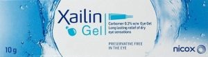 Xailin Gel - the only carbomer eye gel in multi-dose tube which is preservative free