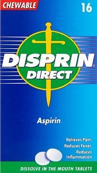 Disprin Direct - chewable aspirin 300mg