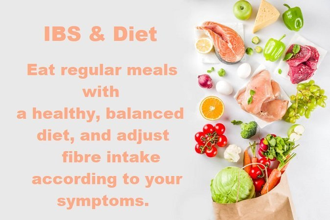 Healthy diet plays important role in the management of IBS symptoms