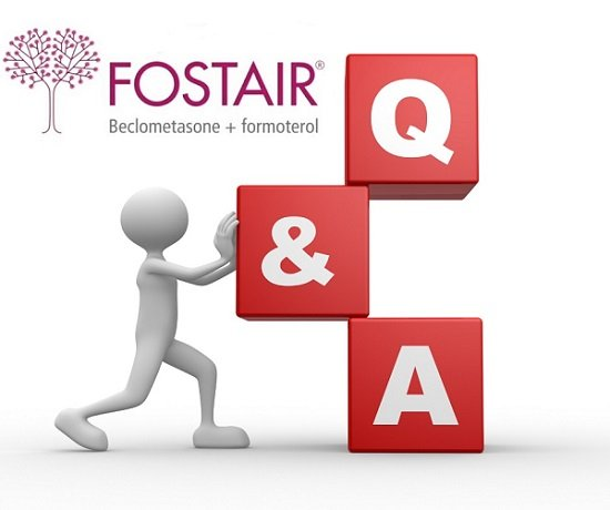 Fostair inhaler - common questions and answers