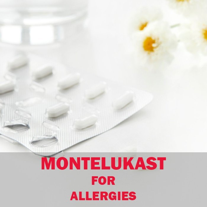 Can you use montelukast for allergies?