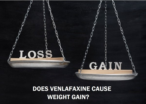 Venlafaxine - weight gain? Does it cause it?